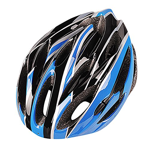 LEvifun Carbon Fahrradhelm Fahrrad Helme Schlittschuh Radsport Radfahren Helme Mountainbike Rennrad Fahrrad Leicht (Blau)