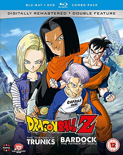 Dragon Ball Z The TV Specials Double Feature: The History of Trunks/Bardock the Father of Goku - DVD/Blu-ray Combo [UK Import]