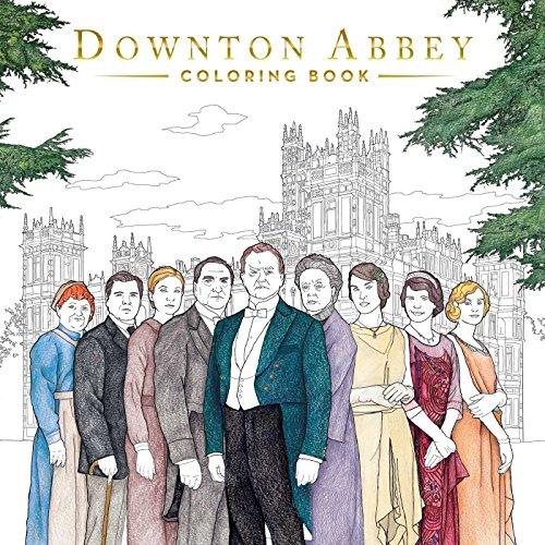 Le livre de coloriage Downton Abbey