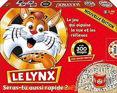Educa - 15346 - Jeu de Société Éducatif - Le Lynx 300 Images