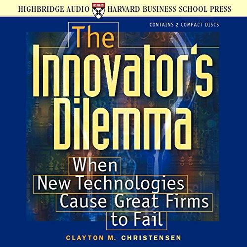Buchseite und Rezensionen zu 'The Innovator's Dilemma' von Clayton M. Christensen