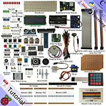 Freenove Ultimate Starter Kit for Raspberry Pi | Beginner Learning | Model 3B, 2B, B+ | Python, C, Java, Processing | 57 Projects, 401 Pages Detailed Tutorials, 220+ Components