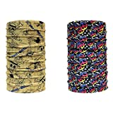 Combo of Noise Skull Walker and Be Calm Multifunctional Headwrap/Bandana