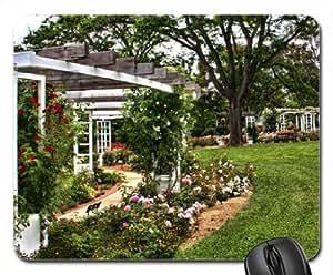 rose garden trelis tapis de souris mouse pad tapis de. Black Bedroom Furniture Sets. Home Design Ideas