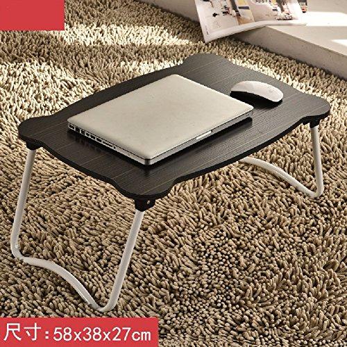 Moderner Aktenschrank (KHSKX Laptop-Schreibtisch, Bett mit einfachen Tisch, moderner Klapptisch Schlafsaal faul, lernen kleiner Schreibtisch,2)