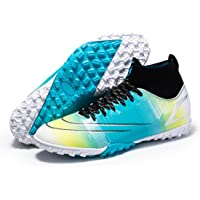 High-top Football Shoes Men's Football Shoes Football Boots Non-Slip Shoes Outdoor Professional Training Shoes Sports…