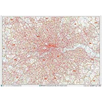 XYZ Postcode Sector Map - (G1) - Greater London - Paper