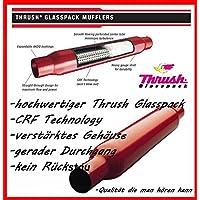 "3"" SPORT AUSPUFFTOPF Durchgangsdämpfer Glasspack Muffler (super dumpfer V8 Sound)"