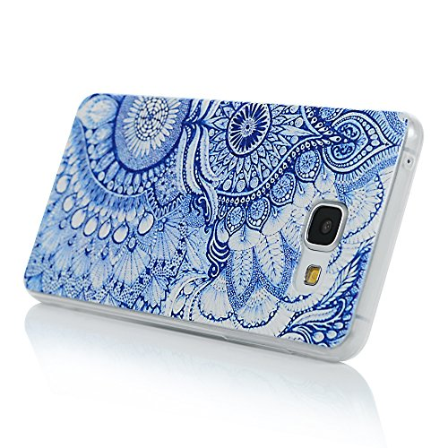 Samsung Galaxy A5(2016) Coque - YOKIRIN® TPU Souple Phone Case Coloré pour Samsung A5 2016 - Totem Feuille de Totem