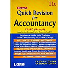 Accountancy for CA-IPC (Group-I) - With Quick Revision Book
