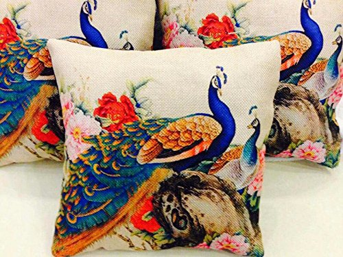 Amayra Home Set Of 5 Multi Colored Decorative Hand Made Cotton Cushion...