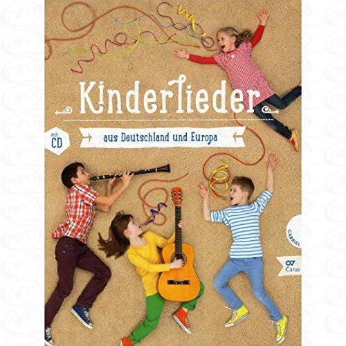 Kinderlieder aus Deutschland und Europa - arrangiert für Liederbuch - mit CD [Noten/Sheetmusic]