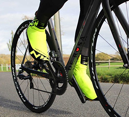 Northwave H20 Winter Cycing Shoecovers Arancione - OrangeFluo/Black