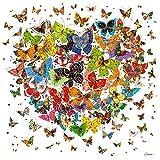 Fairylove 12×12 Zoll Diamond Painting Set Butterfly Perlen Malerei Kit Diamant Dotz Einfügen von Diamant Stickerei Kit