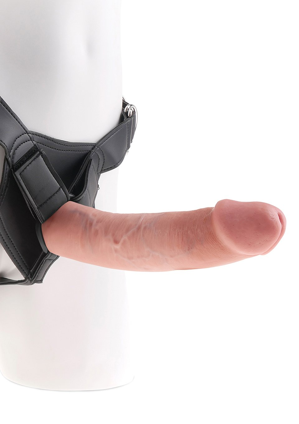 King Cock Strap-on Harness with 9-Inch Cock