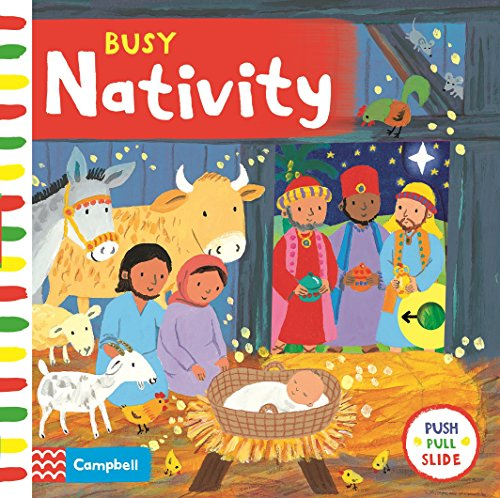 Busy Nativity (Busy Books) por Emily Bolam