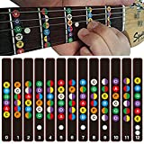 Gitarre Griffbrett Hinweis Aufkleber Skala Streifen Labal Lernen Trainning