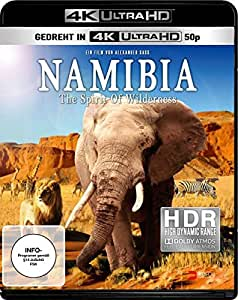 Namibia - The Spirit of Wilderness [4K Ultra HD Blu-ray]