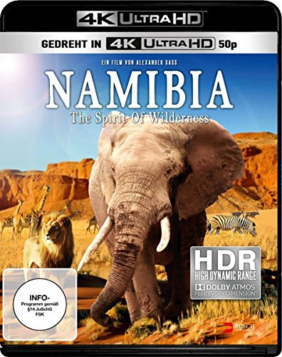 Namibia: The Spirit of Wilderness - 4k Ultra HD Blu-ray