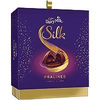 Cadbury Dairy Milk Silk Pralines Chocolate Gift Box, 176g