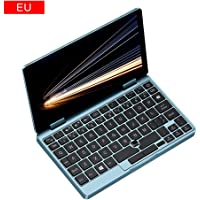 FEIDAjdzf ONE-NETBOOK OneMix 1S+7 inch 2in1 mini PC English layout keyboard mounted (Intel Core m3-8100Y/8GB RAM + 256GB PCIe SSD / Windows10 / multi touch panel/Keyboard with backlight) blue