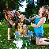 Haustier Bürsten Handschuh Fellpflege-Handschuh Grooming Massagehandschuh Hundebürste Katzenbürste Fellbürste für Hunde Katzen JAANY - 7
