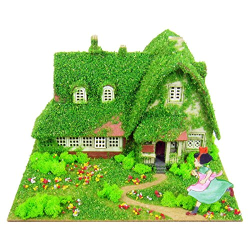 Preisvergleich Produktbild Kikis Delivery Service Ghibli Mini Studio Okinos House Miniature Model Kit