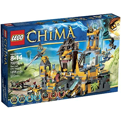 LEGO Chima 70010 The Lion CHI Temple (Discontinued by manufacturer) by LEGO