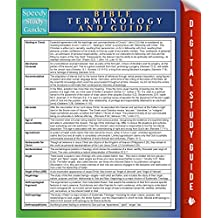 Bible Terminology And Guide: Speedy Study Guides (Bible Study Guide)