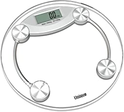 Digital Electronics 8MM Thick Tempered Glass Step ON Personal Bathroom Weighing Scale For Human Body Weight