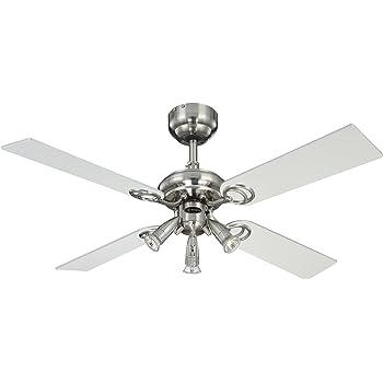 Westinghouse - Ventilateur de Plafond - Avec lumière - Ete ou hiver - Pearl