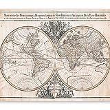 murando Fotomurali 300x210 cm - Top Papel tejido-no tejido. Fotomurales - Papel pintado Mapamundi Mapa Mundi Continente k-B-0033-a-a