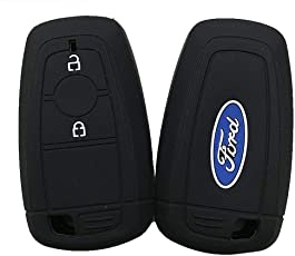 FLYCONN-Superb Silicone Smart Key Cover for New Ford Ecosport (1 Piece)