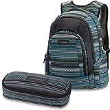 DAKINE 2er Set Rucksack Schulrucksack Laptop Frankie + School CASE Mäppchen Cortez