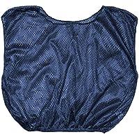 CHAMPION SPORTS Deportes campeón Adulto práctica Scrimmage Vest (Juego de 12), Hombre Mujer, Color Azul Marino, tamaño Adulto
