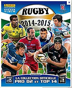 PANINI RUGBY 2014 2015/ ALBUM POUR STICKERS