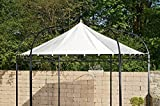 CLP Ersatzdach für 6 eckigen Pavillon | Textil-Dach Pavillon MANLEY + DUDLEY | Wetterschutz für Garten-Pavillon | In verschiedenen Farben erhältlich Creme