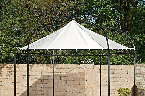 CLP Ersatzdach für 6 eckigen Pavillon | Textil-Dach Pavillon MANLEY + DUDLEY | Wetterschutz für...