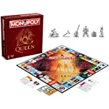 Monopoly Queen - Bordspel - Speciale Monopoly uitgave rondom de Engelse rockband Queen - Voor de hele familie - Taal: Engels