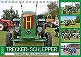 TRECKER-SCHLEPPER. Unverzichtbare Helfer in der Landwirtschaft (Tischkalender 2019 DIN A5 quer): Tolle Eindrücke historischer Landmaschinen (Monatskalender, 14 Seiten ) (CALVENDO Mobilitaet)