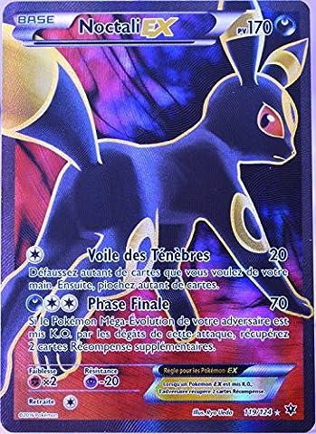 carte Pokémon 119/124 Noctali EX 170 PV - FULL ART XY - Impact des Destins