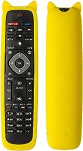 Bedycoon Gelbe Schutzhülle Für Philips 4k Uhd Smart Elektronik