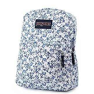 61s8uKPdBcL. SS324  - JANSPORT Superbreak Backpack White Field Floral Schoolbag JS00T5014Z9 Rucksack JANSPORT Bags