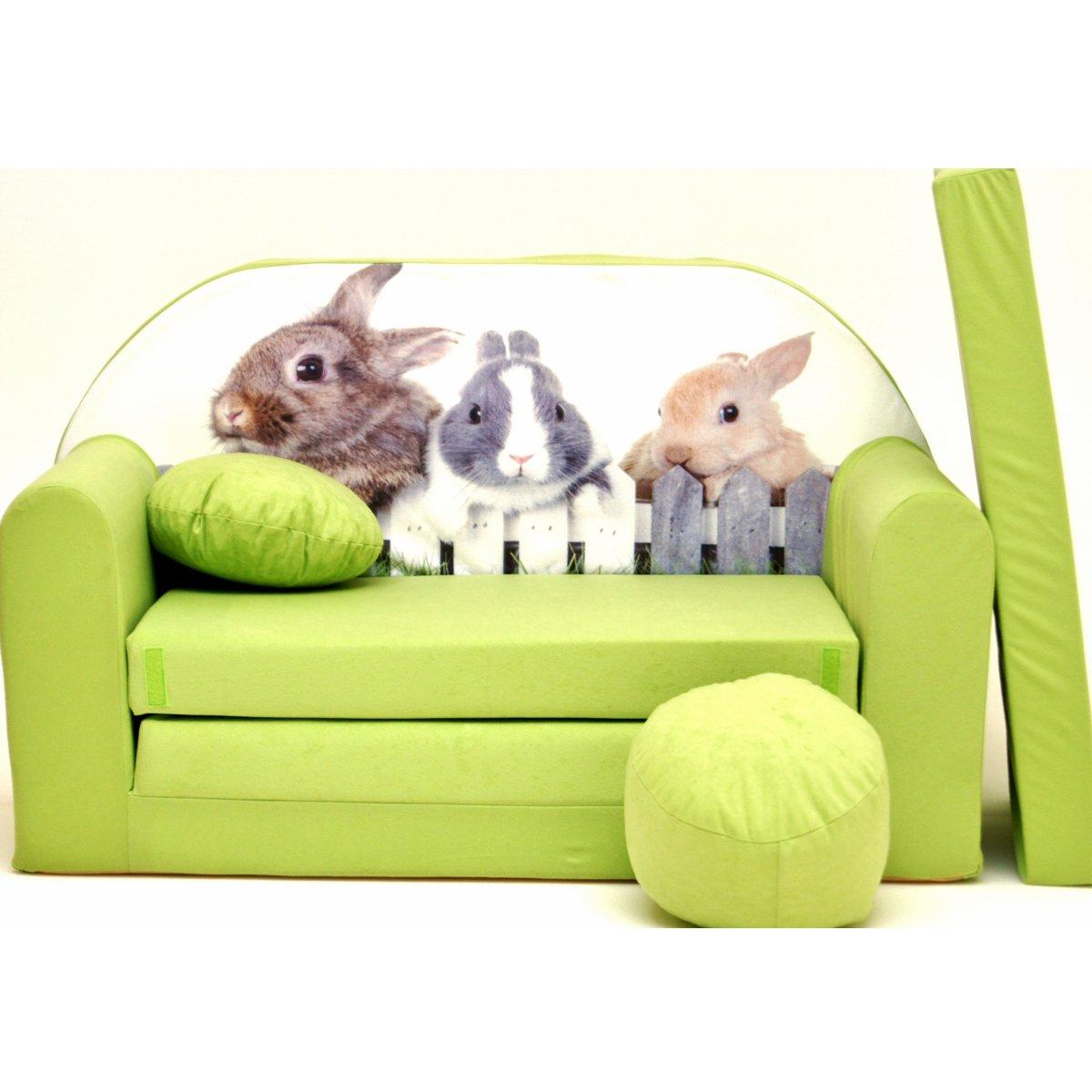 Z25-e bambini divano pieghevole divano letto divano sofa Mini Couch 3�in 1�Baby Set + sedia per bamb