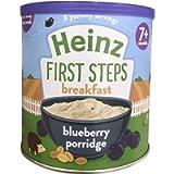 Heinz Baby Tub and Scoop Blueberry Oaty Porridge, 7 months +, 240 g