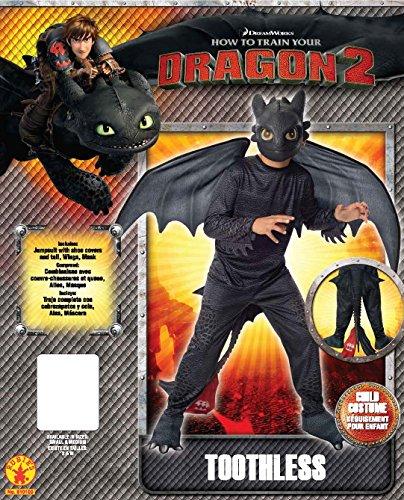 Imagen de desdentado  furia nocturna  cómo entrenar a tu dragón 2  niños disfraz  pequeño  117 cm alternativa