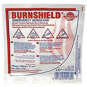 Burnshield Brandwundenverbände, Kompresse, 10 x 10 cm