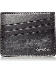Calvin Klein Jeans TYLER CARDHOLDER - Cartera para carnet y tarjetas de cuero hombre