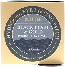 Black Pearl & Gold Hydrogel Eye Patch (60 sheet) by PEITIFEE