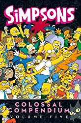 Simpsons Comics Colossal Compendium 5